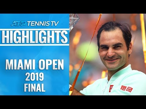 Superb Federer Cruises To Miami Open Title - peRFect Tennis