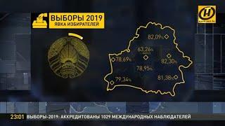 Наши Новости 23.00: в Беларуси завершается день парламентских выборов. 17.11.2019 / Видео