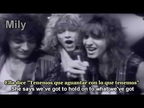 B Jovi  Livin  A Prayer Subtitulado Español Ingles