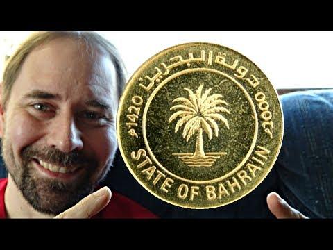 Bahrain 10 Fils 2000 coin