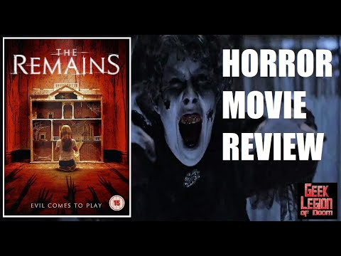 THE REMAINS  2016 Todd Lowe  Horror Movie