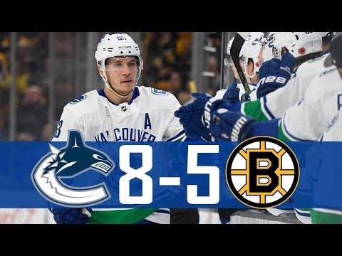 Canucks vs Bruins | Highlights (Nov. 8, 2018) [HD]