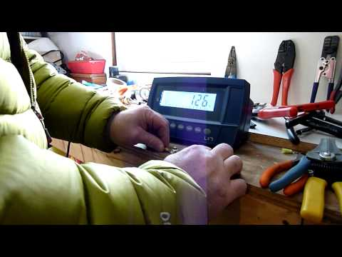 Crimp Load Test #4 Harbor Freight Tools Double Crimper - YouTube