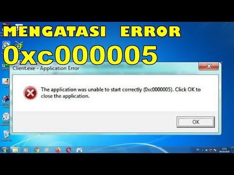 Download Cara Mengatasi Error 0xc00005 di Windows 10, 8 & 7