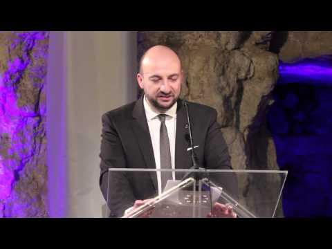 CER Internet Entrepreneur Prize Luxembourg (December 2013). Vice Prime Minister Mr Etienne Schneider