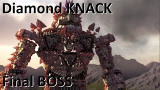 First Try!!! Final BOSS in Diamond KNACK[Final with announcement]