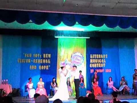 FCU LITERARY MUSICAL CONTEST 2013