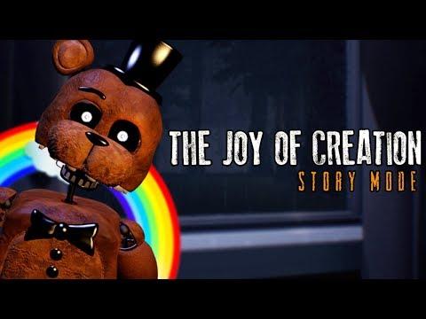 POSSO NEM DORMIR EM PAZ!! - THE JOY OF CREATION: STORY MODE (Da Zuera) #1