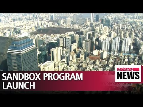 Sandbox program to be launched in South Korea