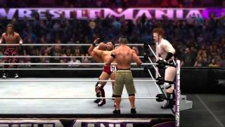 WWE Summerslam 2014 Full Show HQ (Part 1)