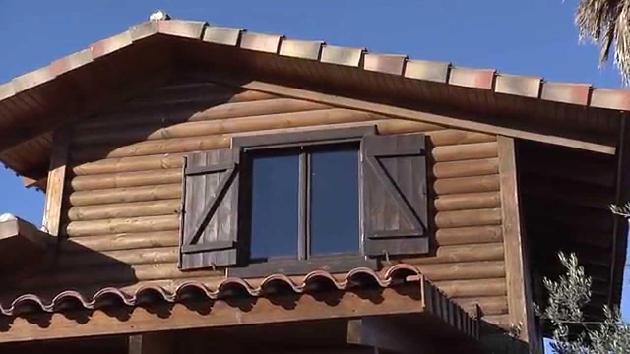 Qué tipos de cubiertas se pueden poner en una casa de madera? - YouTube
