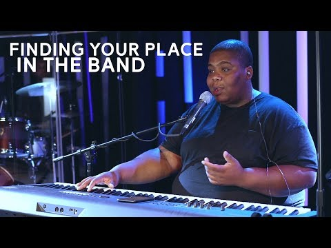 How to Find Your Place in the Band as a Keyboardist | Piano Tutorial