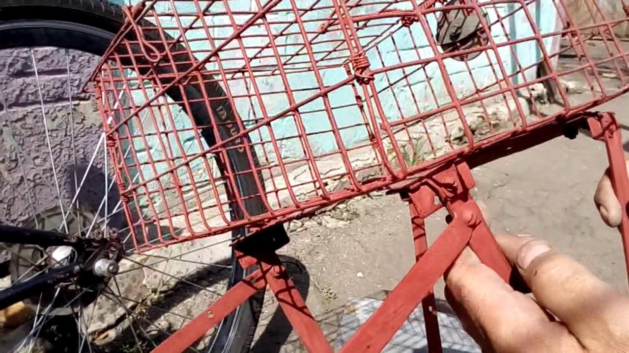 Как сделать багажник на велосипед фото 81