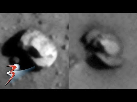 Matching Pair of Derelict Classic UFO-Type 'Craft' Found on Mars