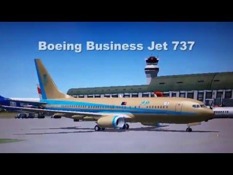 Sultan Of Johor New Private Jet (Flight Simulation)