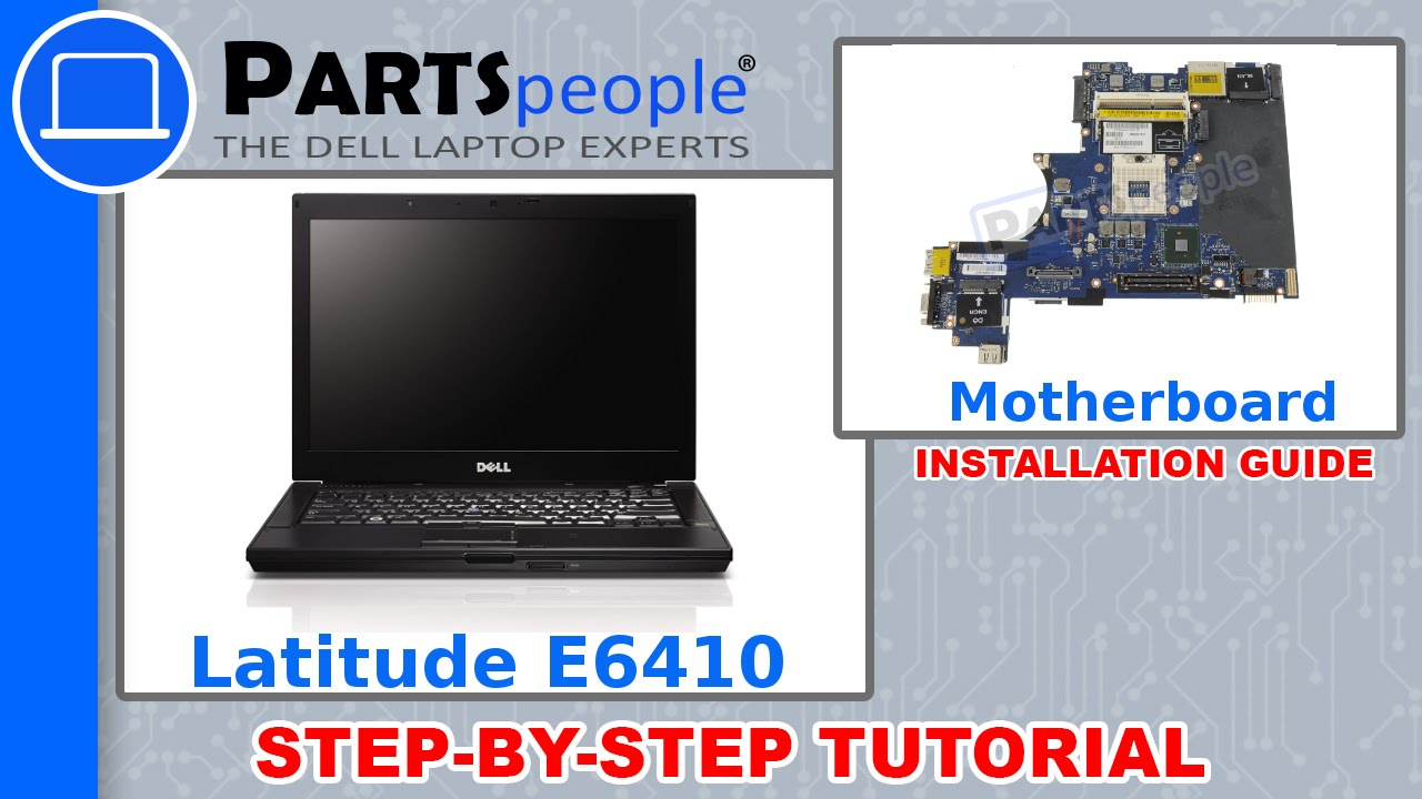 Dell Latitude E6410 Motherboard How To Video Tutorial Youtube
