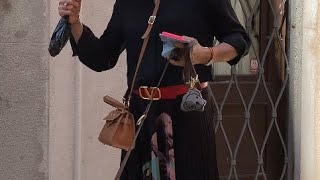 Модницы в Венеции как одеваются в Италии