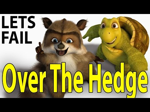 LETS FAIL: Over The Hedge || 40+ Things Wrong With Dreamworks Movies || Bruce Willis
