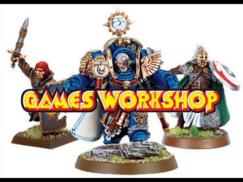 Games Workshop vision and Competitive community - YouTube