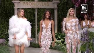 Atelier Pronovias Коллекция in Bloom 2019 Неделя Свадебной Моды в Барселоне Часть 2