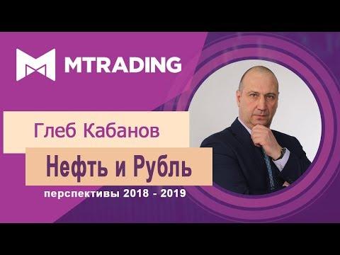Прогноз цены нефти и курса рубля 2018 - 2019