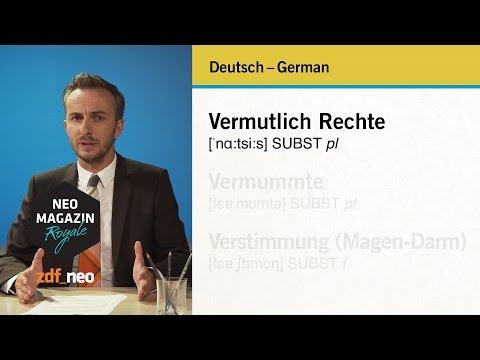 Deutsch - German, German - Deutsch | #heidepack NEO MAGAZIN ROYALE mit Jan Böhmermann - ZDFneo