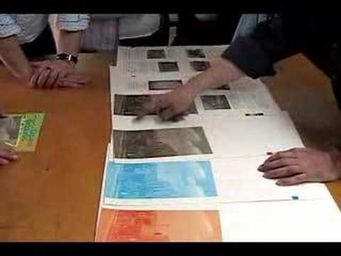 Tim Inkster shows how four-colour printing works