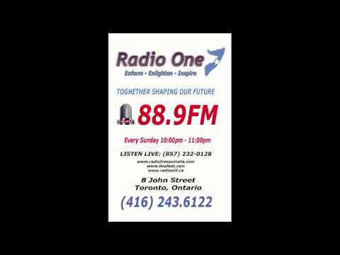 Radio One Somalia   February 22  2015   Youtube   Muse Kulow