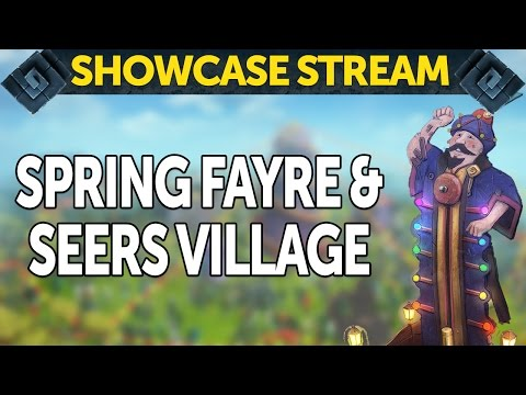 RuneScape Showcase - Seers' Village rework and Spring Fayre
