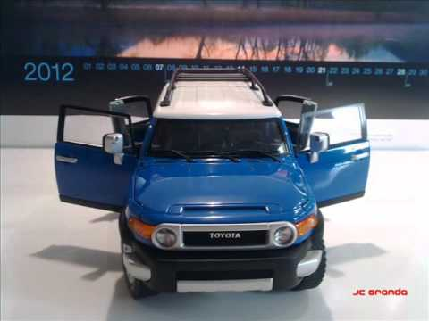 TOYOTA FJ Cruiser Blue 118  YouTube