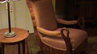 Upholstering A 1940 Gooseneck Platform Rocker