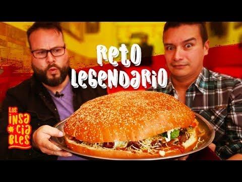 Hamburguesa gigante de mas de 6 kilos - Burger Legends | Los Insaciables