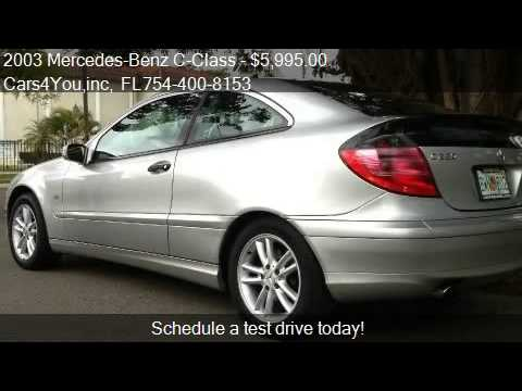 2003 mercedes benz c class c230 kompressor for sale in hol youtube. Black Bedroom Furniture Sets. Home Design Ideas