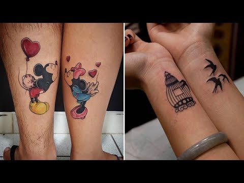 7ef21da7b Cool Matching Tattoos Ideas for Married Couples | - YouTube