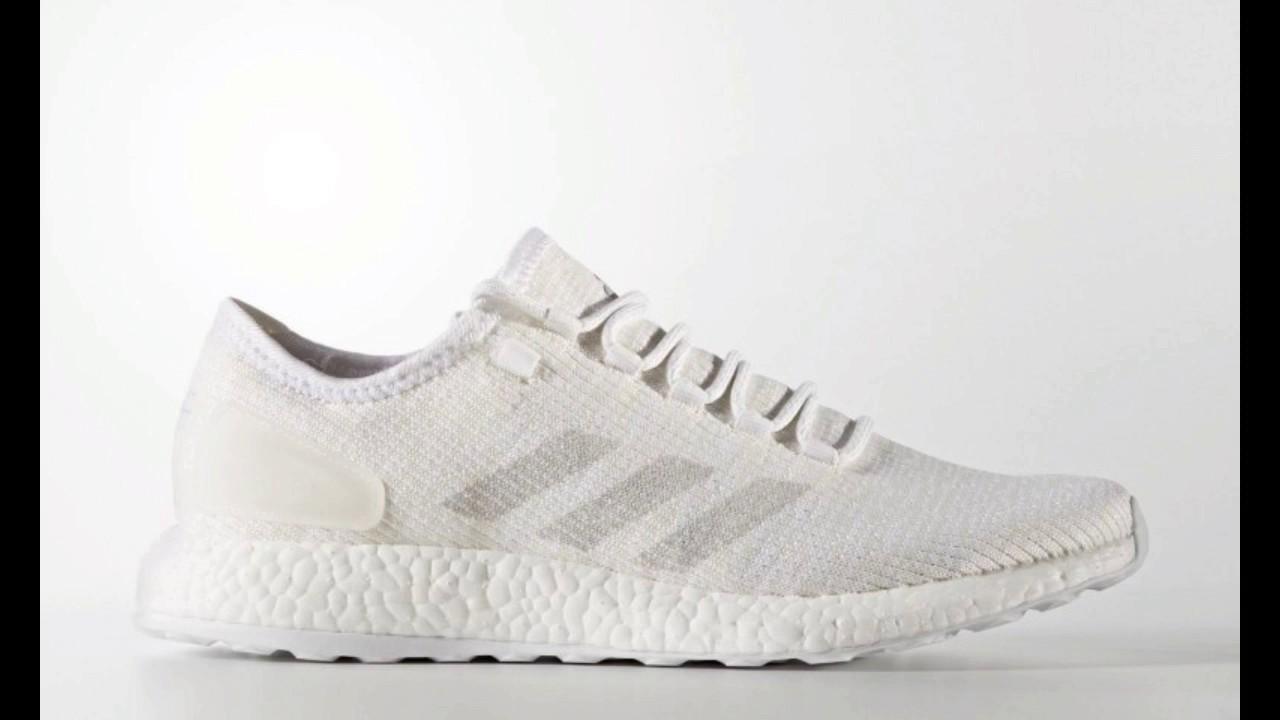 394f2710e Adidas Pure Boost Clima 'White Clear Grey Chalk  Informationen und Release  Datum