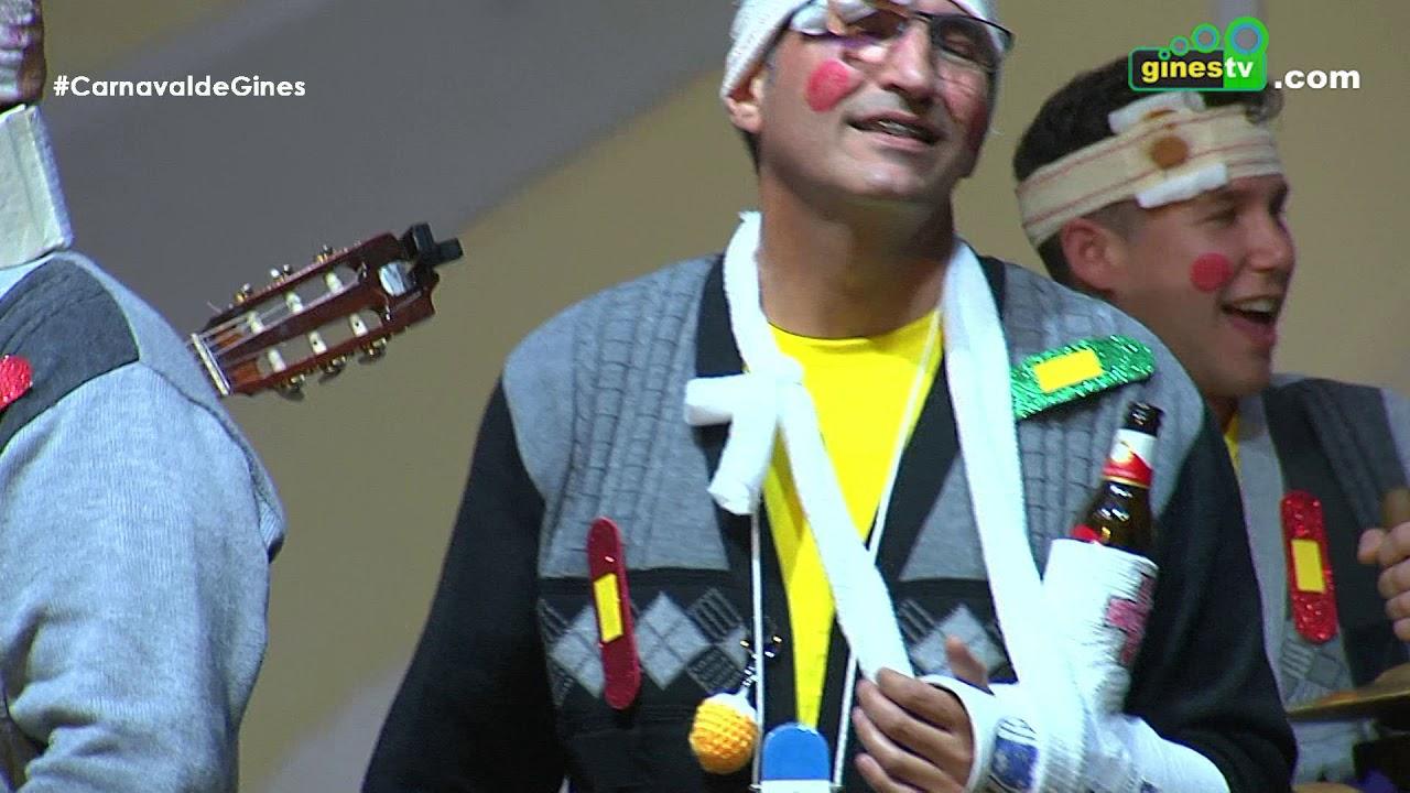 Los pupas. Carnaval de Gines 2019 (Segunda semifinal)