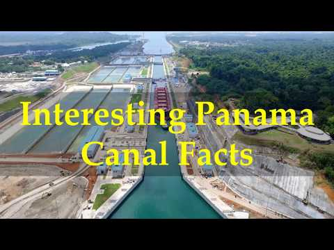 Interesting Panama Canal Facts