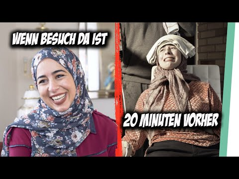 Wenn Muslime Besuch bekommen