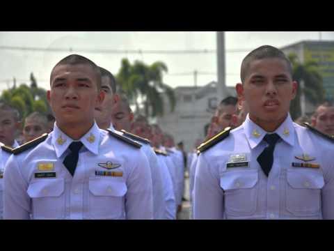 นักเรียนใหม่ รุ่น 73 โรงเรียนนายร้อยตำรวจ สามพราน นครปฐม 22/03/59