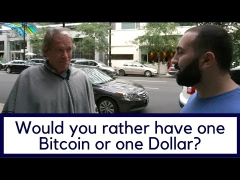 Would You Rather Have One Bitcoin Or One Dollar?