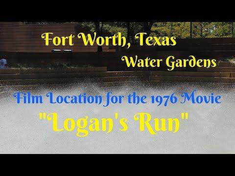 Fort Worth Water Gardens - Film Location Logan's Run
