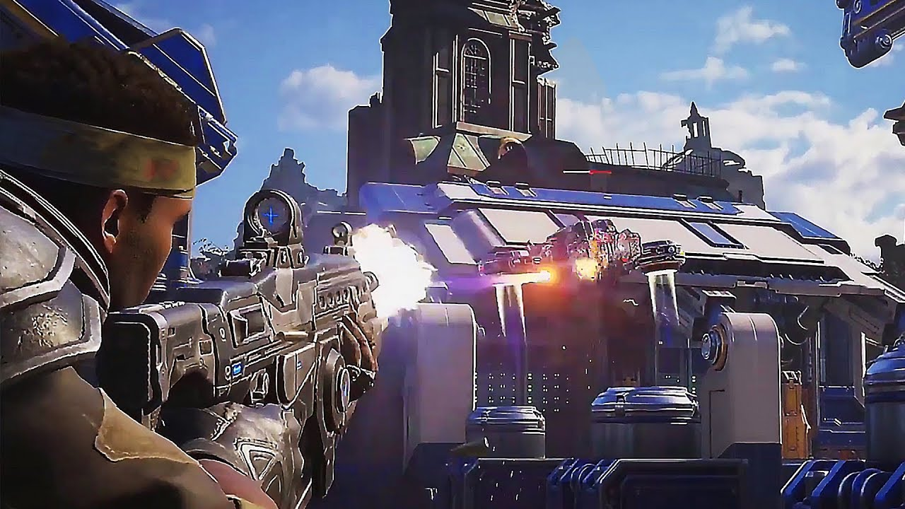 "GEARS 5 ""Bootcamp"" Neue Gameplay-Demo (2019) für Xbox One / PC + video"