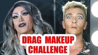 Drag Makeup Blind Tutorial Challenge