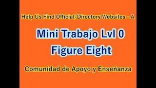 Help Us Find Official/Directory Websites - A, B, C /Task Nivel 0 Neobux-Figure Eight