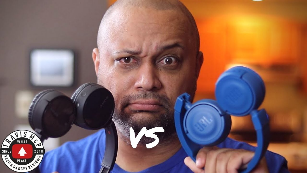 Sony WH CH 500 VS JBL T450BT - Round one of the headphone tournament! #1