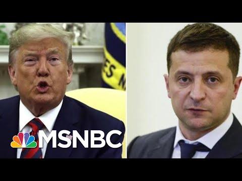 President Donald Trump Admits Discussing Joe Biden With Ukrainian Leader | Velshi & Ruhle | MSNBC