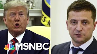 President Donald Trump Admits Discussing Joe Biden With Ukrainian Leader | Velshi & Ruhle | MSNBC