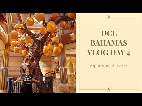 Disney Dream Bahamas Vlog Day 4 | Day At Sea + PALO DINNER thumbnail