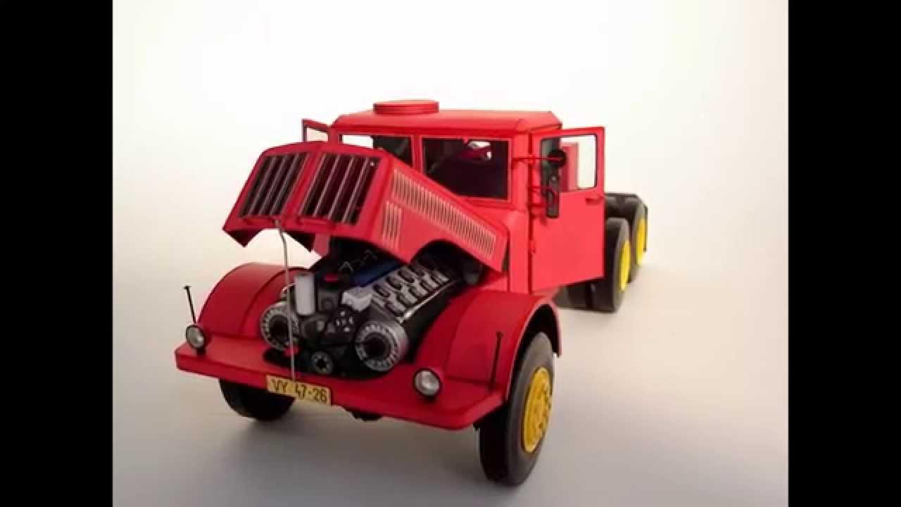 Papercraft Tatra 111 S - Paper Model