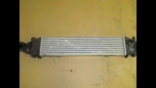 Интеркулер Mercedes W204 W212 A2045000100, 2045000100 Промежуточный охладитель Радиатор охлаждения